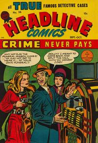 Cover Thumbnail for Headline Comics (Prize, 1943 series) #v3#2 (26)