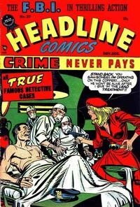 Cover Thumbnail for Headline Comics (Prize, 1943 series) #v3#3 (27)