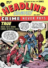 Cover Thumbnail for Headline Comics (Prize, 1943 series) #v3#6 (30)