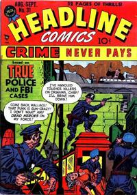 Cover Thumbnail for Headline Comics (Prize, 1943 series) #v4#1 (31)