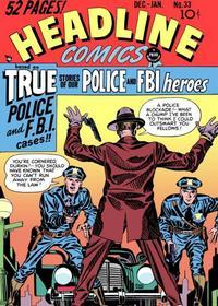 Cover Thumbnail for Headline Comics (Prize, 1943 series) #v4#3 (33)