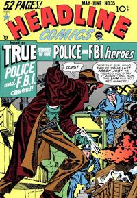 Cover Thumbnail for Headline Comics (Prize, 1943 series) #v4#5 (35)