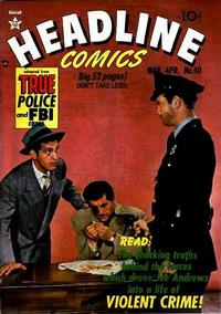 Cover Thumbnail for Headline Comics (Prize, 1943 series) #v5#4 (40)