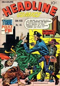 Cover Thumbnail for Headline Comics (Prize, 1943 series) #v6#3 (45)