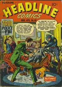Cover Thumbnail for Headline Comics (Prize, 1943 series) #v6#4 (46)