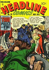 Cover for Headline Comics (Prize, 1943 series) #v7#2 (50)