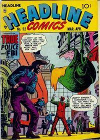 Cover Thumbnail for Headline Comics (Prize, 1943 series) #v7#4 (52)