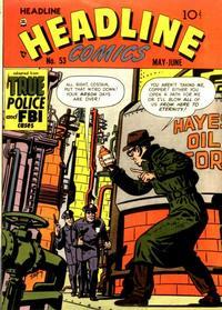 Cover Thumbnail for Headline Comics (Prize, 1943 series) #v7#5 (53)