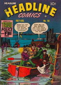 Cover Thumbnail for Headline Comics (Prize, 1943 series) #v7#6 (54)