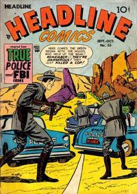 Cover Thumbnail for Headline Comics (Prize, 1943 series) #v8#1 (55)