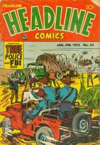 Cover Thumbnail for Headline Comics (Prize, 1943 series) #v9#3 (63)