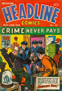 Cover Thumbnail for Headline Comics (Prize, 1943 series) #v9#5 (65)