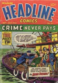 Cover Thumbnail for Headline Comics (Prize, 1943 series) #v10#1 (67)
