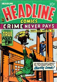 Cover Thumbnail for Headline Comics (Prize, 1943 series) #v10#2 (68)
