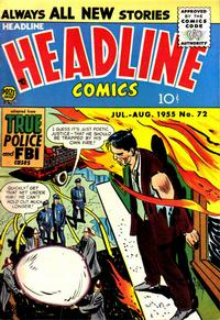 Cover Thumbnail for Headline Comics (Prize, 1943 series) #v10#6 (72)