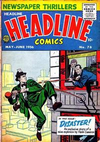 Cover Thumbnail for Headline Comics (Prize, 1943 series) #v11#4 (76)