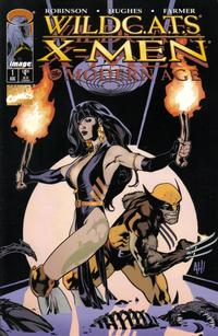 Cover Thumbnail for WildC.A.T.S / X-Men: The Modern Age (Image (Wildstorm); Marvel, 1997 series) #1 [Adam Hughes Cover]
