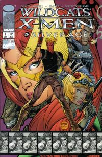 Cover Thumbnail for WildC.A.T.S / X-Men: The Silver Age (Image (Wildstorm); Marvel, 1997 series) #1 [Jim Lee Cover]