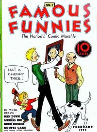 Cover Thumbnail for Famous Funnies (Eastern Color, 1934 series) #7