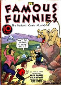 Cover Thumbnail for Famous Funnies (Eastern Color, 1934 series) #8