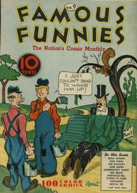 Cover Thumbnail for Famous Funnies (Eastern Color, 1934 series) #9