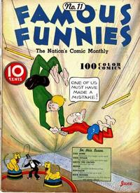 Cover Thumbnail for Famous Funnies (Eastern Color, 1934 series) #11