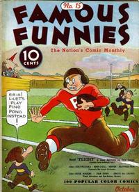 Cover Thumbnail for Famous Funnies (Eastern Color, 1934 series) #15