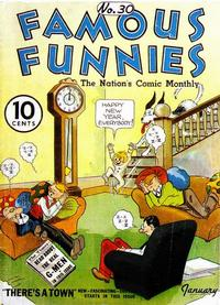 Cover Thumbnail for Famous Funnies (Eastern Color, 1934 series) #30