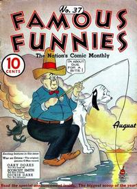 Cover Thumbnail for Famous Funnies (Eastern Color, 1934 series) #37