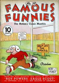 Cover Thumbnail for Famous Funnies (Eastern Color, 1934 series) #39