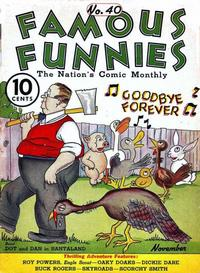 Cover Thumbnail for Famous Funnies (Eastern Color, 1934 series) #40