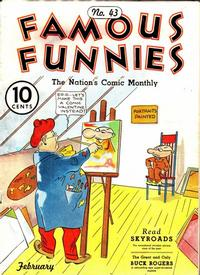 Cover Thumbnail for Famous Funnies (Eastern Color, 1934 series) #43