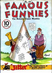Cover Thumbnail for Famous Funnies (Eastern Color, 1934 series) #45