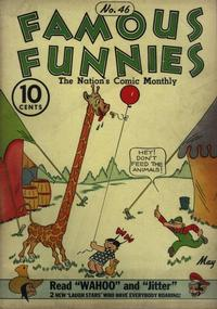 Cover Thumbnail for Famous Funnies (Eastern Color, 1934 series) #46