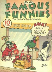 Cover Thumbnail for Famous Funnies (Eastern Color, 1934 series) #48