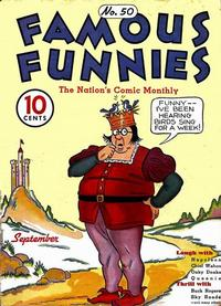 Cover Thumbnail for Famous Funnies (Eastern Color, 1934 series) #50