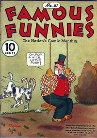 Cover Thumbnail for Famous Funnies (Eastern Color, 1934 series) #51