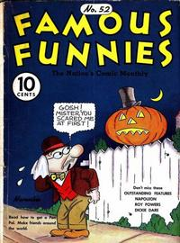 Cover Thumbnail for Famous Funnies (Eastern Color, 1934 series) #52