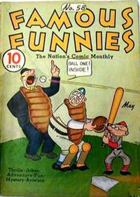 Cover Thumbnail for Famous Funnies (Eastern Color, 1934 series) #58