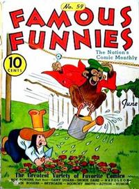 Cover Thumbnail for Famous Funnies (Eastern Color, 1934 series) #59