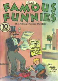 Cover Thumbnail for Famous Funnies (Eastern Color, 1934 series) #62