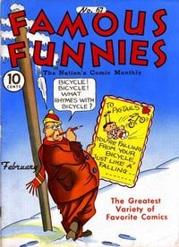 Cover Thumbnail for Famous Funnies (Eastern Color, 1934 series) #67