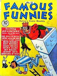 Cover Thumbnail for Famous Funnies (Eastern Color, 1934 series) #68