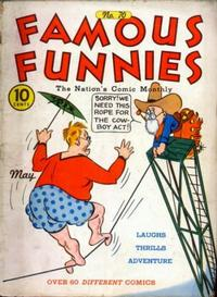 Cover Thumbnail for Famous Funnies (Eastern Color, 1934 series) #70