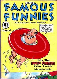 Cover Thumbnail for Famous Funnies (Eastern Color, 1934 series) #73