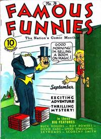 Cover Thumbnail for Famous Funnies (Eastern Color, 1934 series) #74
