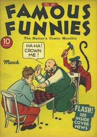 Cover Thumbnail for Famous Funnies (Eastern Color, 1934 series) #80