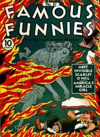 Cover Thumbnail for Famous Funnies (Eastern Color, 1934 series) #81