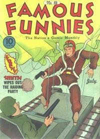 Cover Thumbnail for Famous Funnies (Eastern Color, 1934 series) #84