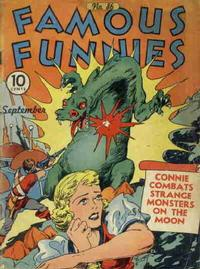 Cover Thumbnail for Famous Funnies (Eastern Color, 1934 series) #86